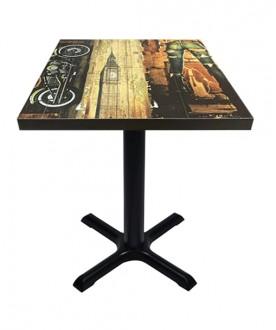 Table d'intérieur mélaminé - Devis sur Techni-Contact.com - 1
