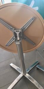 Table bistrot rabattable et encastrable - Devis sur Techni-Contact.com - 8