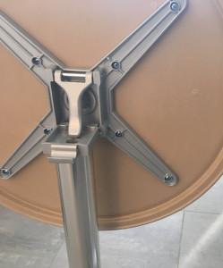 Table bistrot rabattable et encastrable - Devis sur Techni-Contact.com - 9