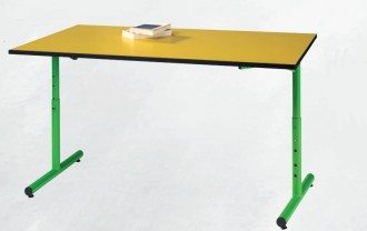 Table de cantine réglable - Devis sur Techni-Contact.com - 1