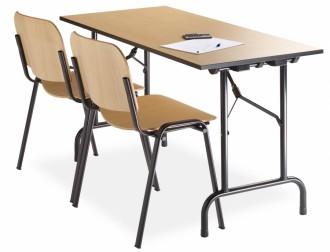 Table de collectivité avec système de pliage - Devis sur Techni-Contact.com - 1