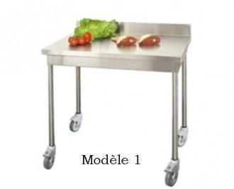 Table de cuisine inox démontable - Devis sur Techni-Contact.com - 1