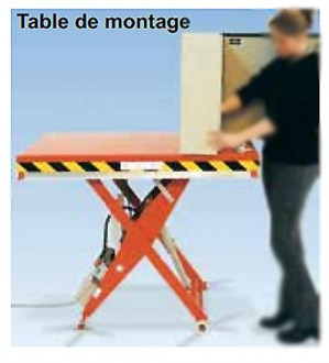 Table de montage élévatrice sur mesure - Devis sur Techni-Contact.com - 1