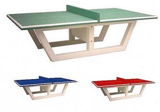Table de ping-pong en béton armé - Devis sur Techni-Contact.com - 1