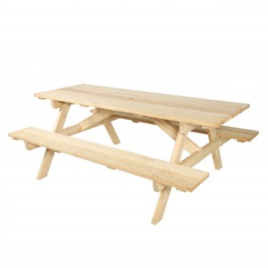 Table de pique-nique en bois - Devis sur Techni-Contact.com - 2