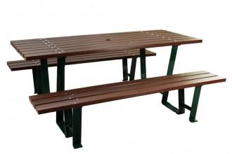 Table de pique-nique en composite - Devis sur Techni-Contact.com - 1