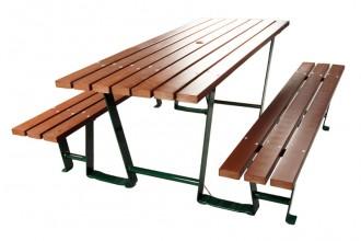 Table de pique-nique en composite - Devis sur Techni-Contact.com - 2