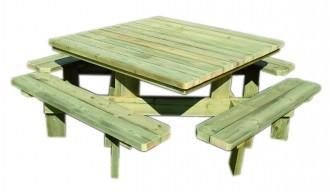 Table de plein air pour repas - Devis sur Techni-Contact.com - 1