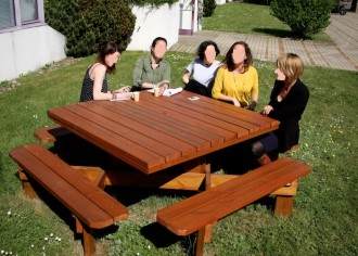 Table de plein air pour repas - Devis sur Techni-Contact.com - 2
