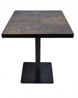 Table de restaurant style industriel - Devis sur Techni-Contact.com - 1