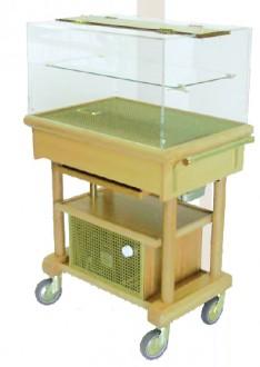 Table de service réfrigérée roulante - Devis sur Techni-Contact.com - 2