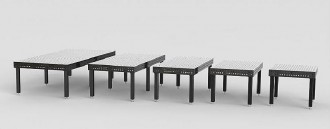 Table de soudure avec alésages 22 mm - Devis sur Techni-Contact.com - 1