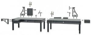 Table de soudure avec alésages 28 mm - Devis sur Techni-Contact.com - 1