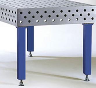 Table de soudure avec alésages 28 mm - Devis sur Techni-Contact.com - 4