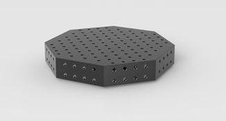 Table de soudure octogonale système 28 - Devis sur Techni-Contact.com - 1