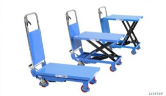 Table de support élévatrice sur roues avec ciseaux - Devis sur Techni-Contact.com - 1