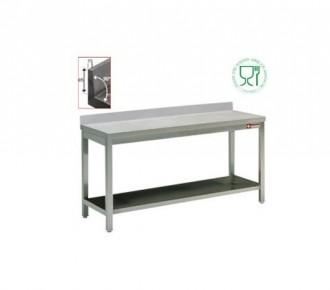 Table de travail en acier inox - Devis sur Techni-Contact.com - 1