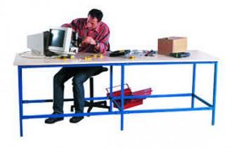 Table de travail modulable Longueur 3500 mm - Devis sur Techni-Contact.com - 1