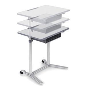Table de travail r glage manuel de la hauteur devis sur - Table de travail reglable en hauteur ...