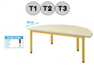 Table demi-cercle - Devis sur Techni-Contact.com - 1