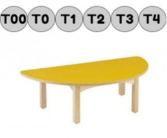 Table demi-cercle - Devis sur Techni-Contact.com - 2