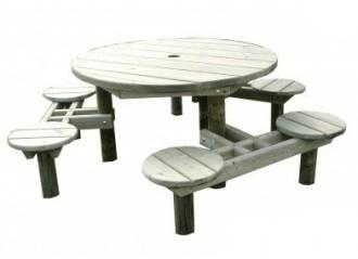 Table design bois pour enfants - Devis sur Techni-Contact.com - 1