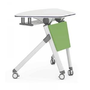 Table dynamique rabattable pour salle formation - Devis sur Techni-Contact.com - 1