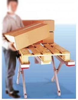 Table elevatrice à plateau en E - Devis sur Techni-Contact.com - 1