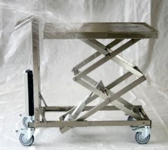 Table élévatrice électrique inox - Devis sur Techni-Contact.com - 1
