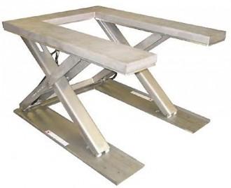 Table élévatrice extra plate inox - Devis sur Techni-Contact.com - 1