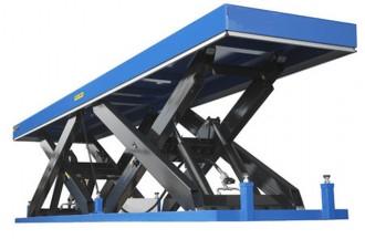 Table élévatrice hydraulique à double ciseaux - Devis sur Techni-Contact.com - 1
