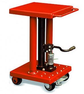 Table élévatrice hydraulique à pédale - Devis sur Techni-Contact.com - 1