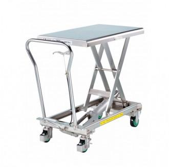 Table élévatrice hydraulique en inox - Devis sur Techni-Contact.com - 1
