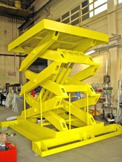 Table élévatrice hydraulique triple ciseaux - Devis sur Techni-Contact.com - 1