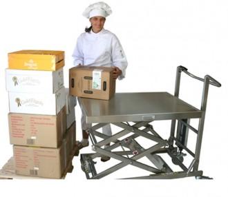 Table élévatrice inox mobile - Devis sur Techni-Contact.com - 2
