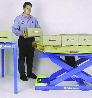 Table élevatrice pneumatique - Devis sur Techni-Contact.com - 1