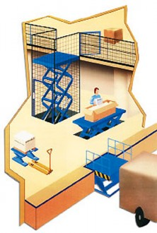 Table élévatrice pour containers - Devis sur Techni-Contact.com - 2