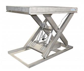Table élévatrice simple ciseaux inox - Devis sur Techni-Contact.com - 1
