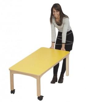 Table en bois de hêtre - Devis sur Techni-Contact.com - 2