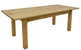 Table en bois massif à pieds rabattable - Devis sur Techni-Contact.com - 3
