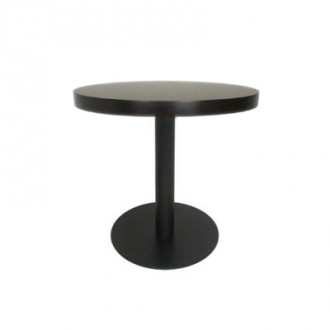 Table en bois piètement en acier - Devis sur Techni-Contact.com - 1