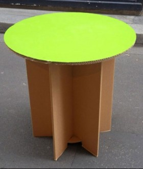 Table en carton - Devis sur Techni-Contact.com - 1