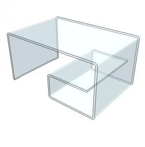 Table en escargot en plexiglas - Devis sur Techni-Contact.com - 2