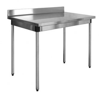Table en inox à dosseret sur vérins - Devis sur Techni-Contact.com - 1