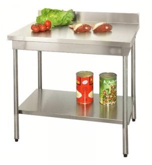 Table en inox à dosseret sur vérins - Devis sur Techni-Contact.com - 2