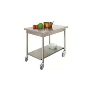 Table en inox démontable - Devis sur Techni-Contact.com - 2