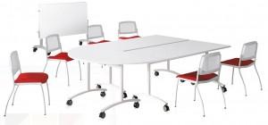 Table en mélamine abattante - Devis sur Techni-Contact.com - 1