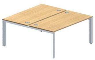 Table en mélaminé structure partagée - Devis sur Techni-Contact.com - 1