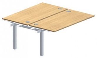 Table en mélaminé structure partagée - Devis sur Techni-Contact.com - 2