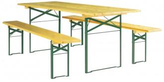 Table et banc pour terrasse - Devis sur Techni-Contact.com - 1